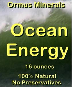 Ormus Minerals -Ocean Energy