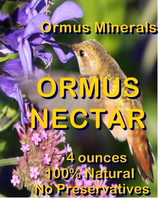 Ormus Minerals -Ormus Nectar
