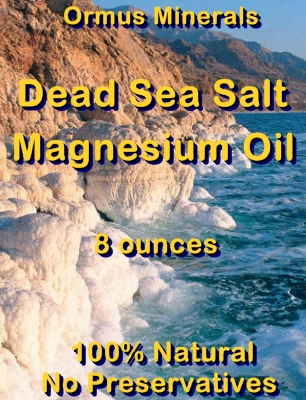 Ormus Minerals -Dead Sea Salt Magnesium Oil