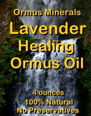 Ormus Minerals -Lavender Healing Ormus Oil