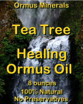 Ormus Minerals -Tea Tree Healing Ormus Oil