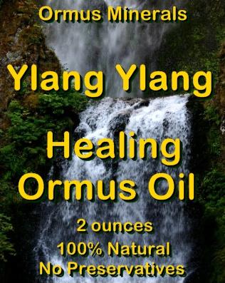 Ormus Minerals -Ylang Ylang Healing Ormus Oil