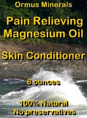 Ormus Minerals -Pain Relieving Magnesium Oil Skin Conditioner