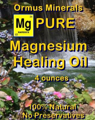 Ormus Minerals -Pure Magnesium HEALING Oil