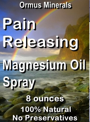 Ormus Minerals -Pain Releasing Magnesium Oil Spray