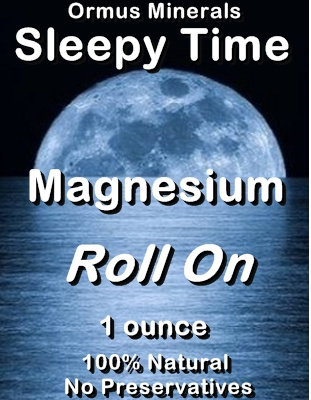 Ormus Minerals -Sleepy Time Magnesium Roll On