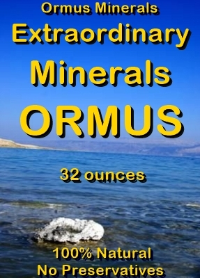 Ormus Minerals -Extraordinary Minerals Ormus
