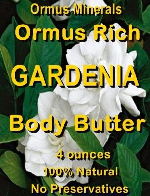 Ormus Minerals -Gardenia Body Butter