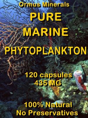Ormus Minerals -PURE Marine Phytoplankton