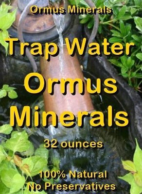 Ormus Minerals -Trap Water Ormus Minerals