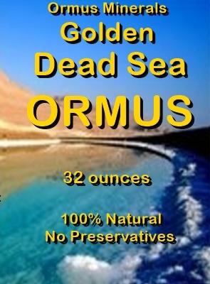 Ormus Minerals -Golden Dead Sea ORMUS