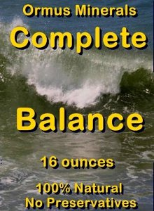 OrmusMinerals - Ormus Minerals - Complete Balance